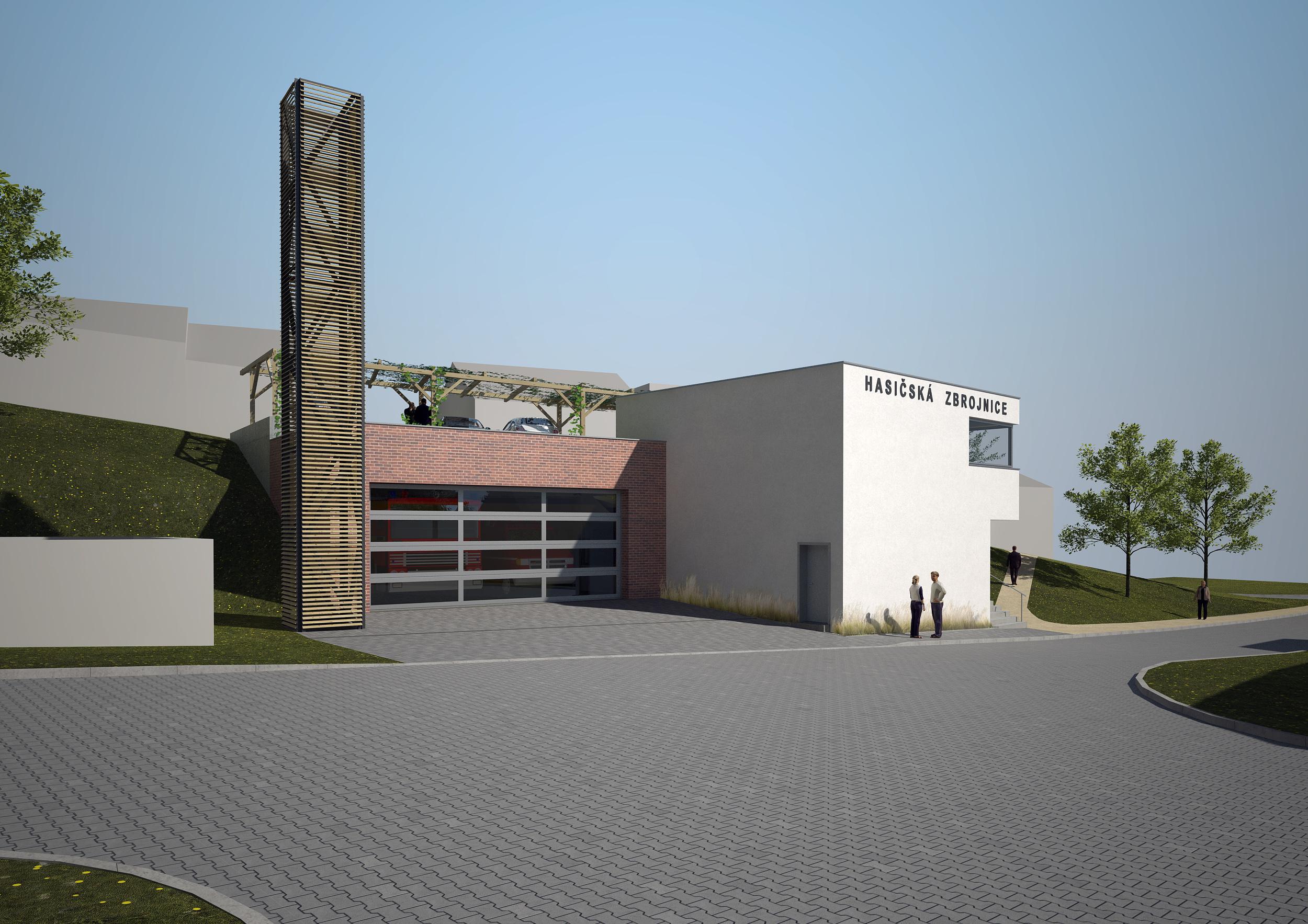 hasičská zbrojnice Jehnice